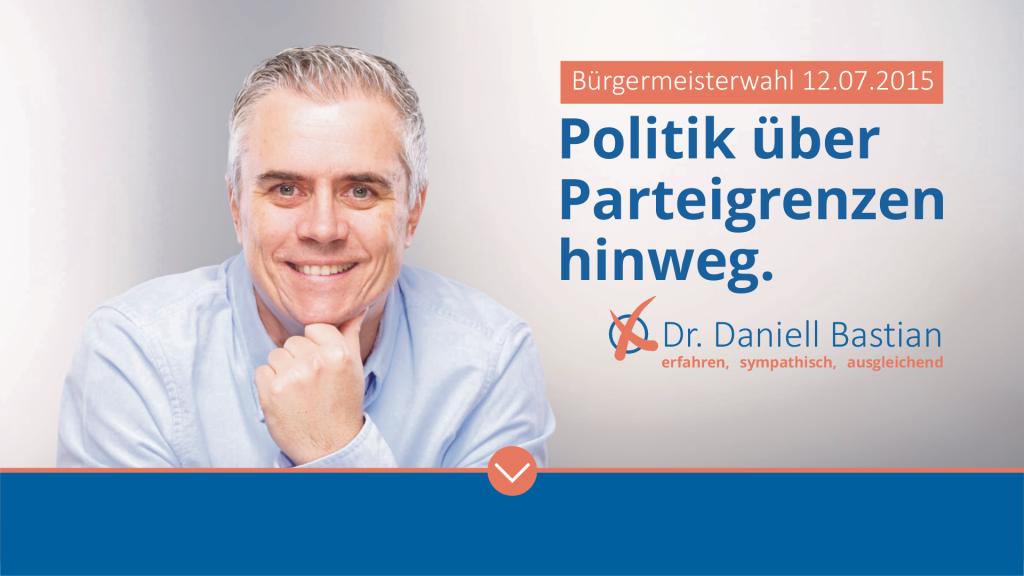 Dr. Daniell Bastian - Bürgermeisterkandidat für Seligenstadt